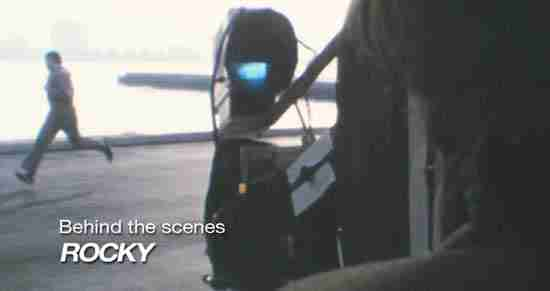 Rare Stallone Filming Rocky's Run