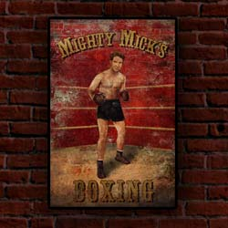 Buy Mighty Micks Boxing Poster