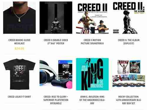 Awesome Gift Ideas for Rocky and Creed Fans at Our Online Shop