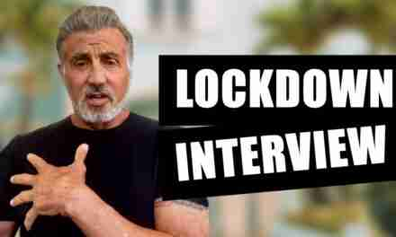 Sylvester Stallone Gives Interview During Lockdown